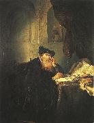 KONINCK, Salomon A Philosopher g oil painting artist